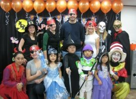 Teachers & students dress up for Halloween