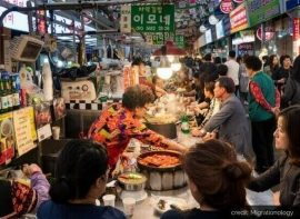 Korean Street Food Market