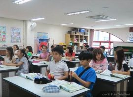 Korean classroom