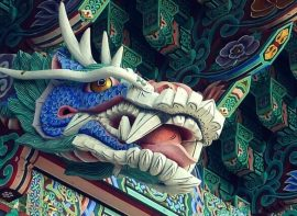 Korean temple art
