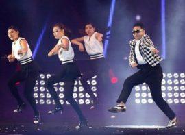 Kpop Psy dancing