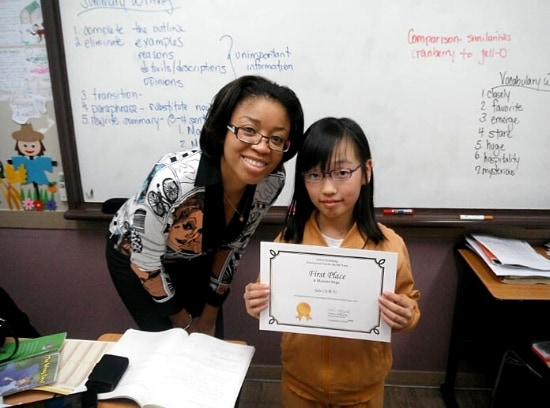 American Teacher With Student