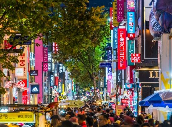 Colorful Korean Streets