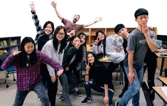First time English teacher in Korea